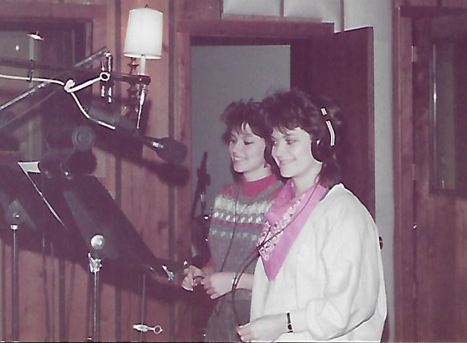 Kelita, Shania Twain, recording in studio in Nashville
