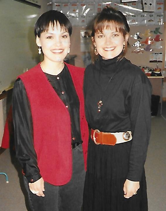 Kelita with Susan Agukark