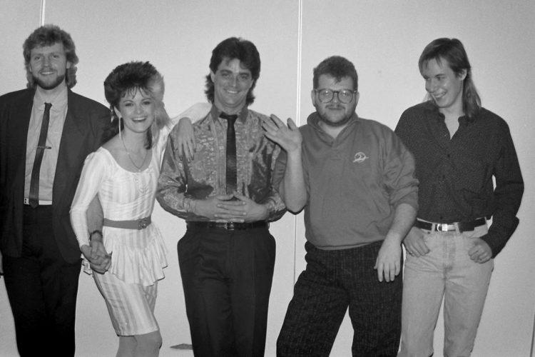 Kelita, Kelita's band - circa 1986